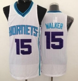 Revolution 30 Charlotte Hornets #15 Kemba Walker White Stitched NBA Jersey