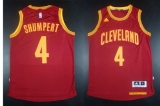 Revolution 30 Cleveland Cavaliers #4 Iman Shumpert Red Stitched NBA Jersey
