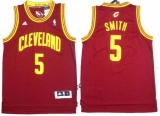 Revolution 30 Cleveland Cavaliers #5 JR Smith Red Stitched NBA Jersey