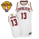 Revolution 30 Cleveland Cavaliers #13 Tristan Thompson White The Finals Patch Stitched NBA Jersey