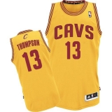 Revolution 30 Cleveland Cavaliers #13 Tristan Thompson Yellow Stitched NBA Jersey