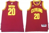 Revolution 30 Cleveland Cavaliers #20 Timofey Mozgov Red Stitched NBA Jersey