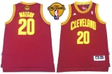 Revolution 30 Cleveland Cavaliers #20 Timofey Mozgov Red The Finals Patch Stitched NBA Jersey