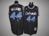Mitchell And Ness Orlando Magic #44 Jason Williams Stitched Black Throwback NBA Jersey