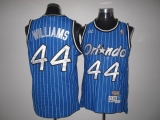 Mitchell And Ness Orlando Magic #44 Jason Williams Stitched Blue Throwback NBA Jersey