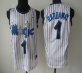 Orlando Magic #1 Penny Hardaway White Throwback Stitched NBA Jersey