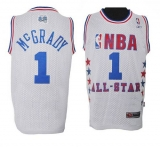 Orlando Magic #1 Tracy Mcgrady White 2003 All Star Stitched NBA Jersey