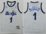 Orlando Magic #1 Tracy Mcgrady White Throwback Stitched NBA Jersey