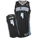 Orlando Magic #4 Elfrid Payton Black Revolution 30 Stitched NBA Jersey