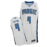 Orlando Magic #4 Elfrid Payton White Revolution 30 Stitched NBA Jersey