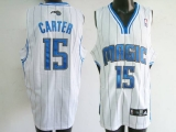 Orlando Magic #15 Vince Carter Stitched White NBA Jersey
