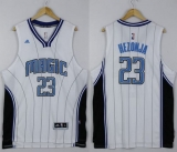 Orlando Magic #23 Mario Hezonja White Stitched NBA Jersey