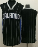 Orlando Magic Blank Black Revolution 30 Stitched NBA Jersey