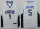 Revolution 30 Orlando Magic #5 Victor Oladipo White Stitched NBA Jersey