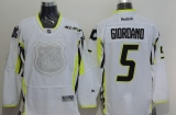 Calgary Flames #5 Mark Giordano White 2015 All Star Stitched NHL Jersey