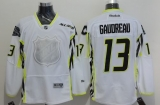 Calgary Flames #13 Johnny Gaudreau White 2015 All Star Stitched NHL Jersey