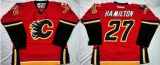Calgary Flames #27 Dougie Hamilton Red Home Stitched NHL Jersey