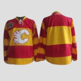 Calgary Flames 2011 Winter Classic Vintage Blank Stitched Red Orange NHL Jerse