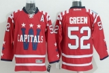 Washington Capitals #52 Mike Green 2015 Winter Classic Red Stitched NHL Jersey