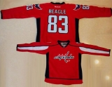Washington Capitals #83 Jay Beagle Red Home Stitched NHL Jersey