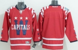 Washington Capitals Blank 2015 Winter Classic Red Stitched NHL Jersey