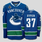 Vancouver Canucks 2011 Stanley Cup Finals #37 Rick Rypien Blue Stitched NHL Jersey