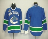 Vancouver Canucks 2011 Stanley Cup Finals Blank Blue Stitched NHL Jersey