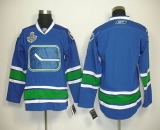 Vancouver Canucks 2011 Stanley Cup Finals Blank Blue Third Stitched NHL Jersey