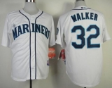 Seattle Mariners #32 Taijuan Walker White Cool Base Stitched MLB Jersey