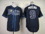 Tampa Bay Rays #9 Wil Myers Dark Blue Cool Base Stitched MLB Jersey