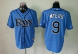 Tampa Bay Rays #9 Wil Myers Light Blue Cool Base Stitched MLB Jersey