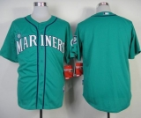 Seattle Mariners Blank Green Alternate Cool Base Stitched MLB Jersey