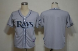 Tampa Bay Rays Blank Grey Cool Base Stitched MLB Jersey