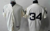 Washington Nationals #34 Bryce Harper Cream 1924 Turn Back The Clock Stitched MLB Jersey