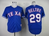 Texas Rangers #29 Adrian Beltre Blue Cool Base Stitched MLB Jersey