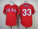Texas Rangers #33 Martin Perez Red Cool Base Stitched MLB MLB Jersey