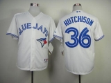 Toronto Blue Jays #36 Drew Hutchison White Cool Base Stitched MLB Jersey