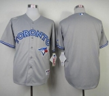 Toronto Blue Jays Blank Grey Road Cool Base 2012 Stitched MLB Jersey