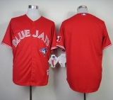 Toronto Blue Jays Blank Red Canada Day Stitched MLB Jersey