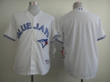 Toronto Blue Jays Blank White Home Cool Base 2012 Stitched MLB Jersey