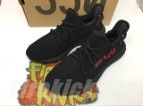 Super Max Perfect Adidas Yeezy 350 V2 Boost  Black Men And Women Shoes(no worry!good quality)-LY