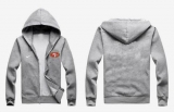 Nike San Francisco 49ers Authentic Logo Hoodie Grey