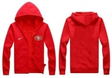 Nike San Francisco 49ers Authentic Logo Hoodie Red