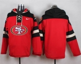 Nike San Francisco 49ers Blank Red Player Pullover NFL Hoodie