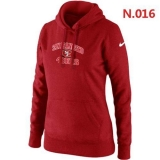 Women\'s Nike San Francisco 49ers Heart & Soul Pullover Hoodie Red