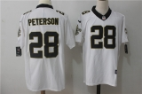 New Orleans Saints #28 White  NFL Jersey (9)