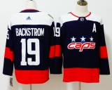 Washington Capitals #19 Black Red NHL Jersey (6)