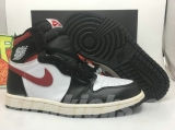 "Perfect Air Jordan 1 Retro High OG ""Gym Red"" Women Shoes -SY (2)"