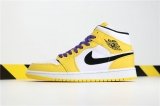 "(Sale)Super Max Perfect Air Jordan 1 ""Lakers"" Men And Women Shoes(no worry!good quality) -GCZX"
