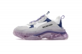 Super Max Perfect Belishijia  Triple-s S.Gomma White Blue Men And Women Shoes - LY (33)
